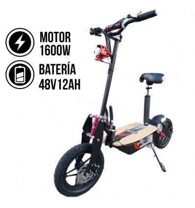 patinete electrico 1800 ovex cross brushless