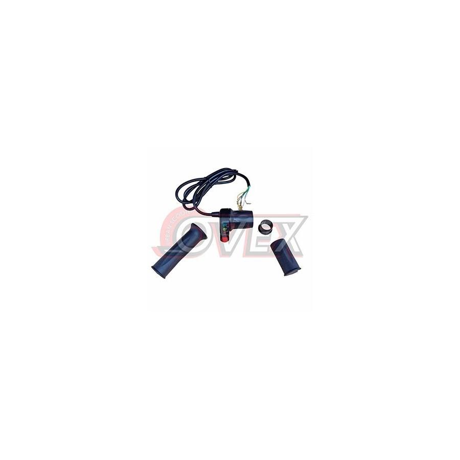 Set de Puño Acelerador con manguitos y con indicador de carga 48V