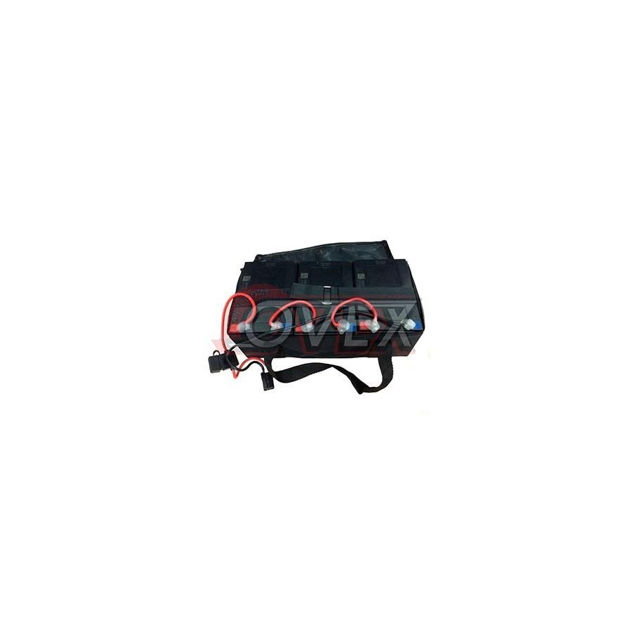 Pack de 4 Baterías con Maleta 12V/12ah